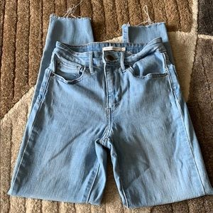 Women's high waisted Levi jeans size 27